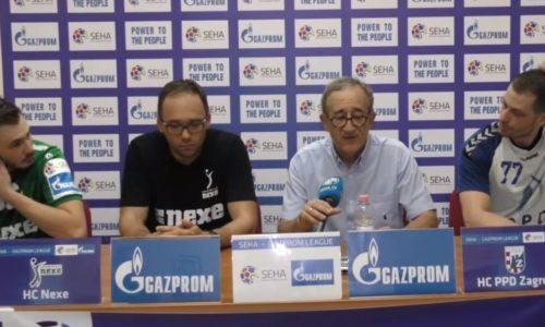 Press conference – handball